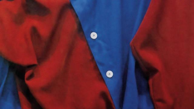 Imagen de la primera camiseta del FC Barcelona, siempre de color blaugrana