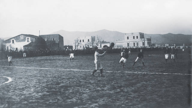 1899-1908. The First Football Grounds