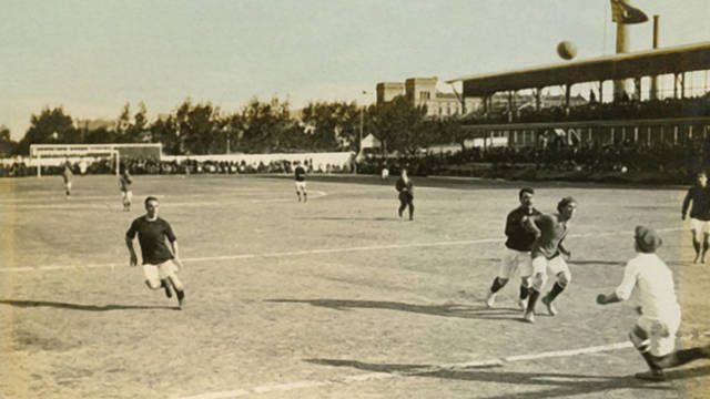 1909 The First Club-Owned Stadium: Carrer de la Indstria football grounds