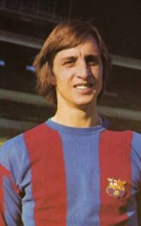 Portrait photo of Cruyff