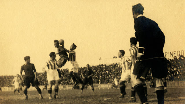 1928. Spanish Cup Champion after an Epic Final in Santander