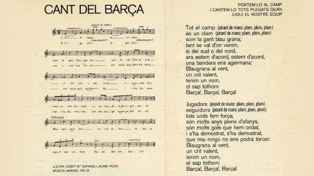 Bara anthem, 1974