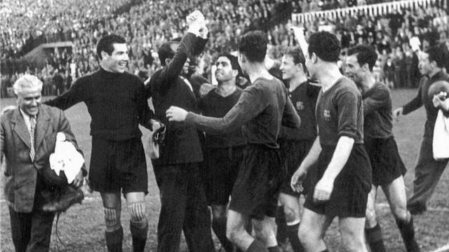 1944. The Return of Samitier as Manager and the 1944-45 Spanish League Victory