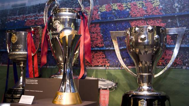 Copa, Liga y Champions expuestas en el Museo