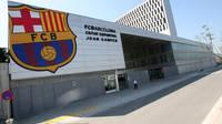 entrance to ciutat esportiva Joan Gamper