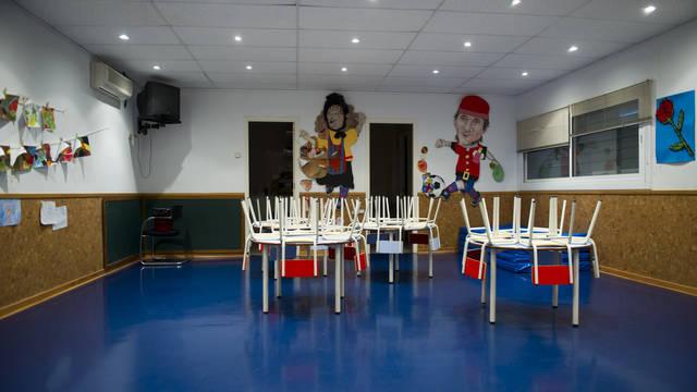 View of the interior of the Kindergarten