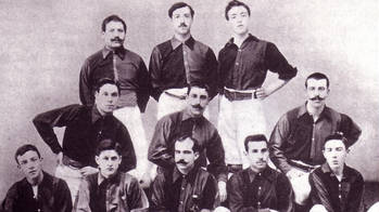 picture of the second team in 1902