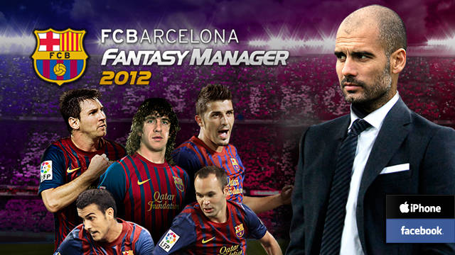 FC Barcelona Fantasy Manager 2012