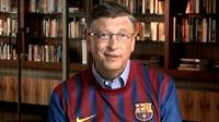 Bill Gates wearing the FCB shirt