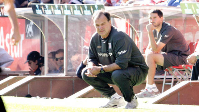 Marcelo Bielsa. PHOTO: WWW.ATHLETIC-CLUB.NET