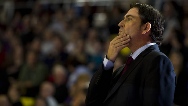 Xavi Pascual sap que li exigiran molt a Turquia / FOTO: LEX CAPARRS - FCB