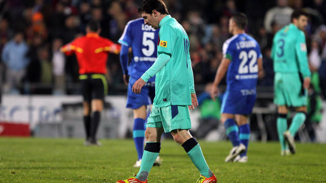 Getafe-FCB. PHOTO: MIGUEL RUIZ-FCB