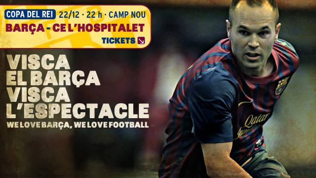 Entrades FC Barcelona - L'Hospitalet