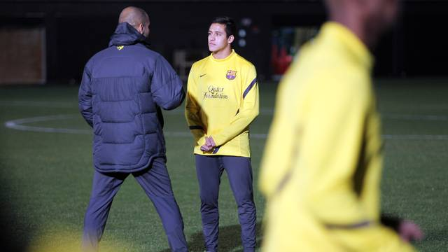 Last training session in Yokohama / PHOTO: MIGUEL RUIZ - FCB