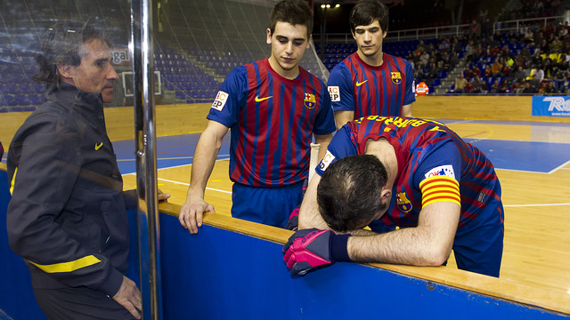 FCB-NOIA FREIXENET (5-3). FOTO: LEX CAPARRS-FCB.