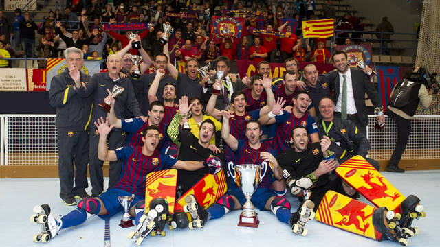 Bara wins their 19th King's Cup title / PHOTO: LEX CAPARRS-FCB