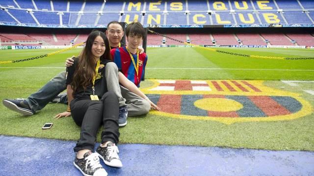 Xia Miao, Shang Yan i Xie Bin, guanyadors del primer concurs de Catalunya Turisme