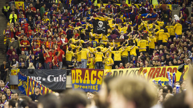 A total of 650 Barça Regal fans have requested tickets for the Final Four / PHOTO: ARXIU FCB