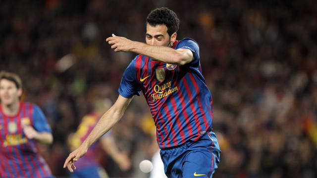 Busquets / PHOTO: MIGUEL RUIZ-FCB