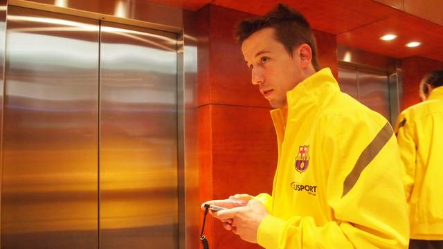 Lin in Lleida / PHOTO: FCB