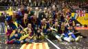 Barça Alusport, champions of the UEFA Futsal Cup / PHOTO: ÁLEX CAPARRÓS - FCB
