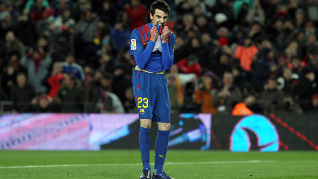 Isaac Cuenca doubtful for Espanyol match/ PHOTO: ARXIU FCB