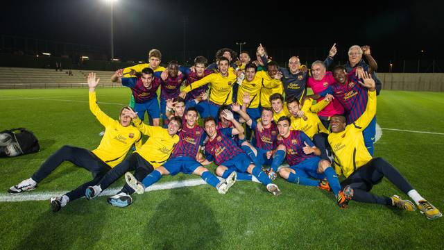 Juvenil B, Liga champions / PHOTO: GERMN PARGA - FCB