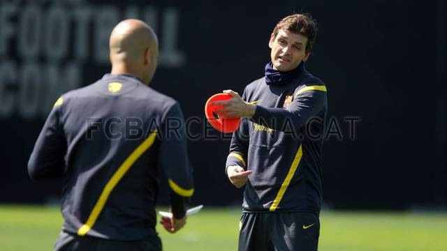 Training session 23/05/12. FOTO: MIGUEL RUIZ-FCB.