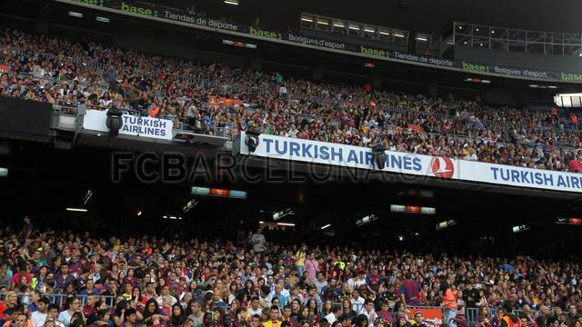 Celebration in the Camp Nou / PHOTO: Miguel Ruiz - FCB