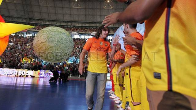 Partit per la Marató per la Pobresa / FOTO: MIGUEL RUIZ - FCB