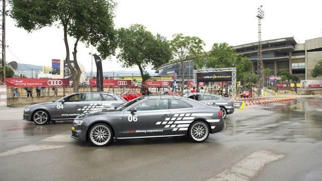 Circuit d'Audi al Camp Nou / FOTO: ÀLEX CAPARRÓS-FCB