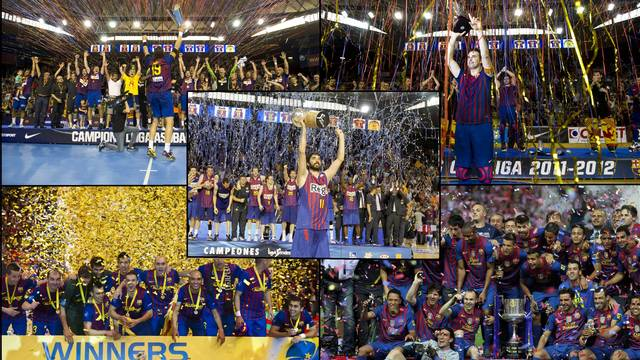 FC Barcelona equal last year's record of 16 titles in a single season