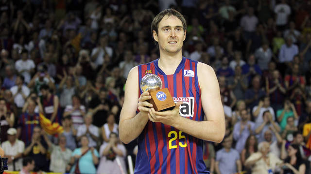 Erazem Lorbek, MVP of the Liga Endesa Final / PHOTO: Miguel Ruiz - FCB