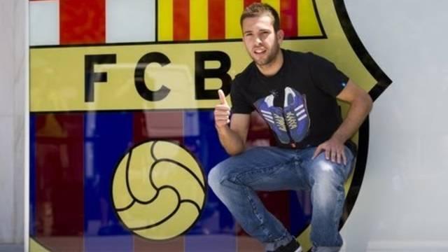 Jordi Alba - Presentación