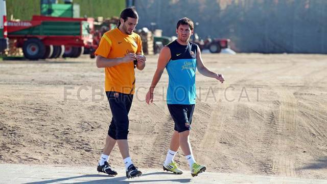 Training session 19/07/2012 / FOTO: MIGUEL RUIZ - FCB