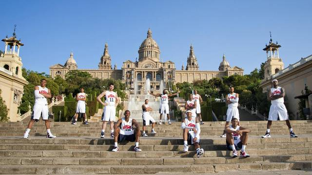 Team USA in Barcelona