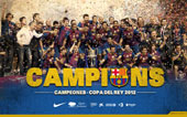 CAMPEONES  COPA DEL REY 2012