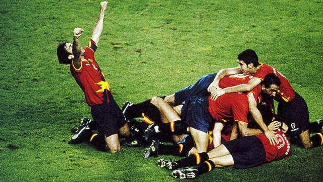The final between Spain and Poland / PHOTO: ARXIU FCB