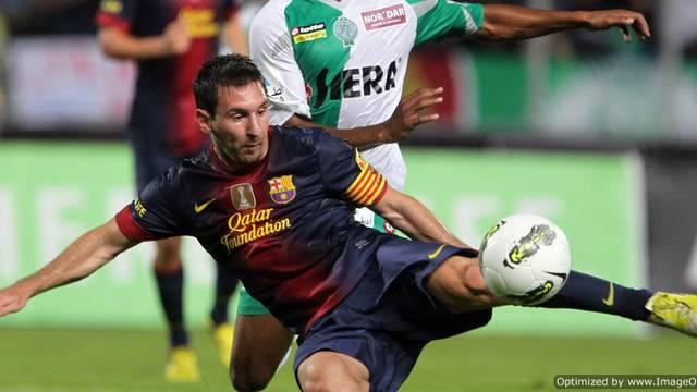 Leo Messi against Raja Club Athletic / PHOTO: MIGUEL RUIZ - FCB