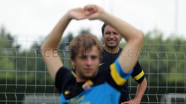 Training session Barça B / PHOTO: MIGUEL RUIZ - FCB