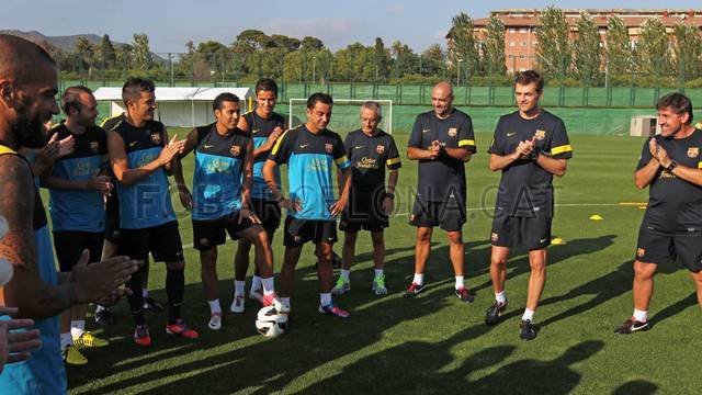 First training session with internationals / PHOTO: MIGUEL RUIZ - FCB