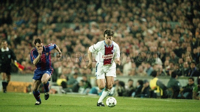 BARÇA-PSG, Champions League 1995 / PHOTO: FILE FCB