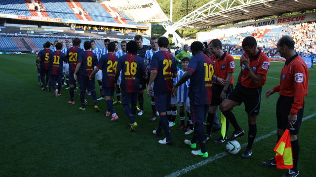 Barça B against Huddersfield / PHOTO: FCB