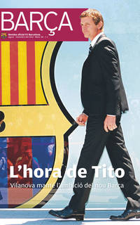The covert of REVISTA BARÇA's 58th edition
