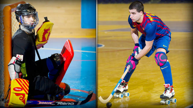 Sergi Fernández and Marc Gual named to the Spanish national team /  FCB
