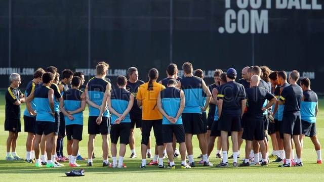Training session 18/08/2012 /FOTO: MIGUEL RUIZ-FCB