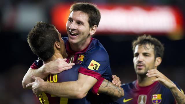 Messi, contra la Reial Societat. FOTO: ÀLEX CAPARRÓS-FCB