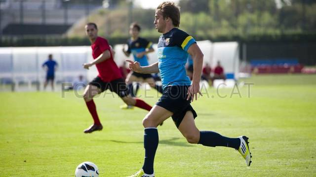 Friendly Match between Barca B and Santboi / PHOTO: LEX CAPARRS - FCB