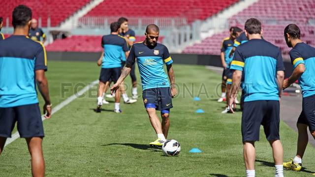 Training session 02/09/2012 / PHOTO: MIGUEL RUIZ - FCB