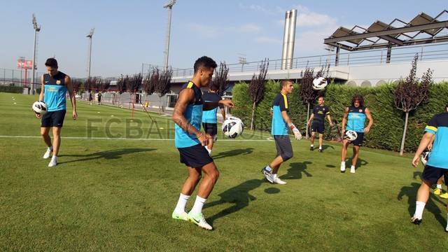 Training session 06/09/12. FOTO: MIGUEL RUIZ-FCB.